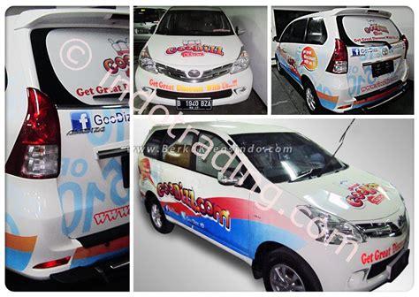 Stiker Reflektif Ban Mobil 8m jual branding stiker mobil harga murah jakarta oleh pt berka kreasindo