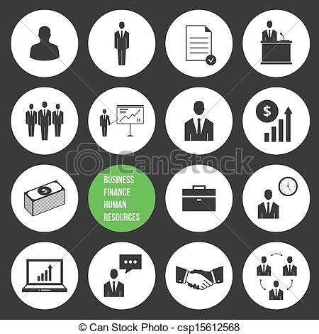 set of business icons human resource finance royalty free stock photos image 33611768 vector business management and human resources icons set clip vector search drawings and