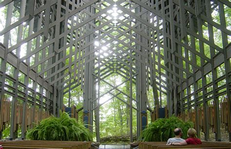 environmental design architecture eureka springs open air thorncrown chapel is a paragon of