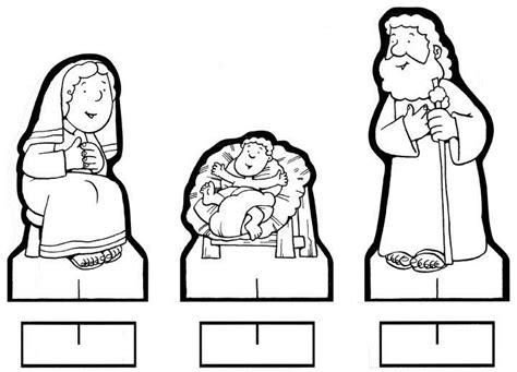 imagenes de nacimientos navideños para colorear y recortar figuritas recortables del belen para colorear belenes