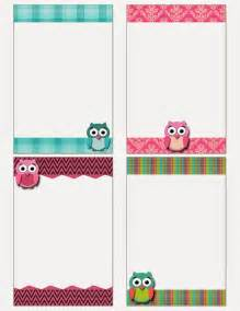 my fashionable designs free printable owl notecards