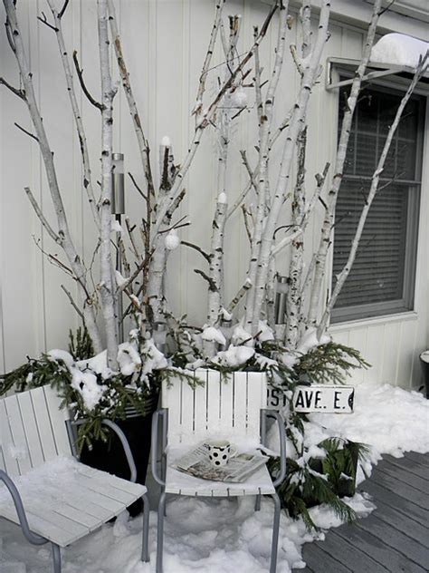 using a birch branch tree for a christmas tree 17 best images about birch branches on planters wedding mantle and purple hydrangeas
