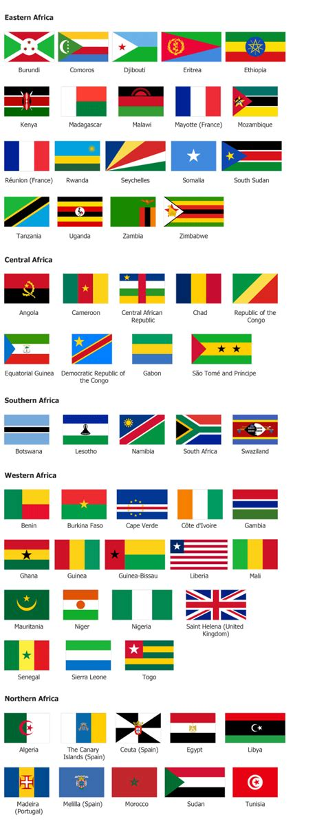 africa map flags countries flags newhairstylesformen2014