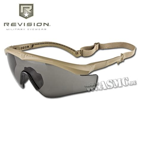 revision sawfly glasses max mission wrap kit small sand