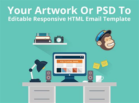 psd to responsive mailchimp template e levation net