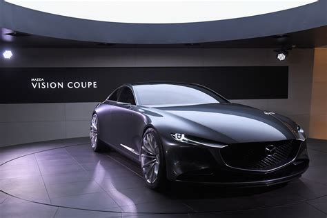 mazda motor cars mazda s concept and vision coupe reveal the future of