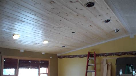 Pine Ceiling Panels by Tongue And Groove Pine Ceiling Design White The Painted