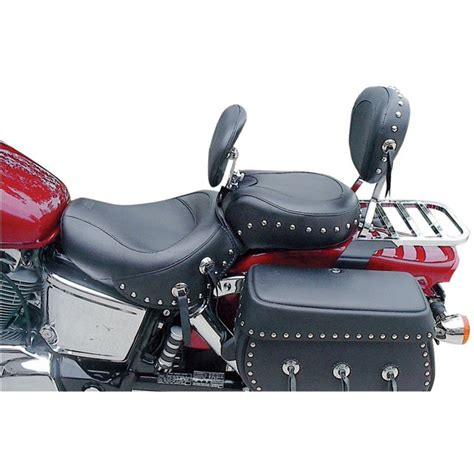 Kawasaki Motorcycle Seats by 1 Wide Touring Seats With Driver Backrest For