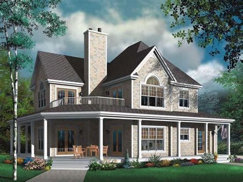 2 Story House Plans With Wrap Around Porch | two story house plans with wrap around porch two story