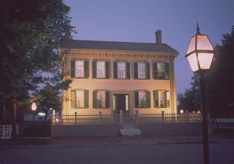 lincoln home national historic site travelthepast com lincoln home through the years lincoln home national