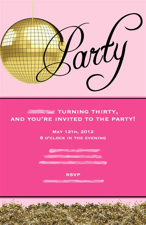 thirty birthday invitation wording 30th birthday invitations free invitation ideas