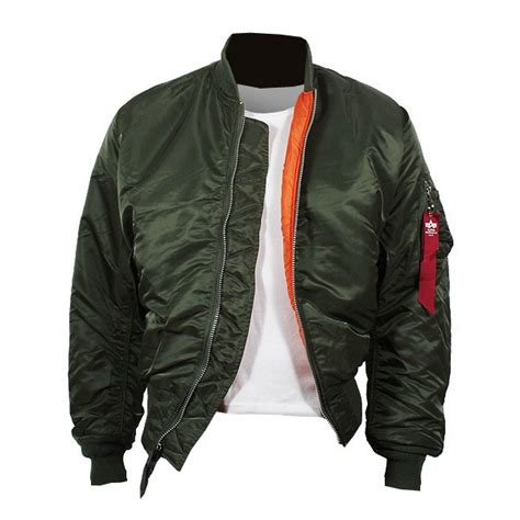 Bomber Ml Var alpha industries ma 1 jacket green pilot jacket