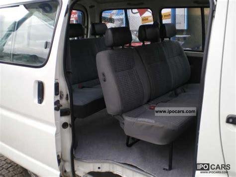 toyota hiace  seats car photo  specs