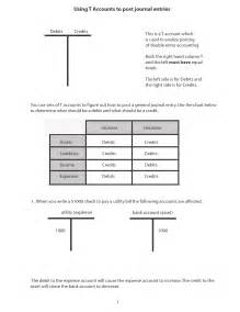 T Accounts Template by 9 Best Images Of Accounting T Chart Template Blank T