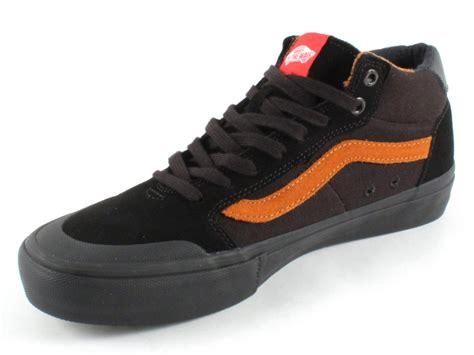 bmx shoes vans quot style 112 mid pro quot shoes black glazed