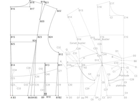 valentina pattern drafting software drafting software blueprints like this are created in
