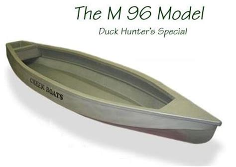 duck hunting creek boat canoes kayaks and pirogues