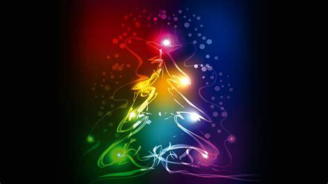wallpaper christmas tree abstract colorful  celebrations christmas
