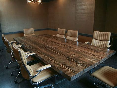 wood conference table best 25 conference room chairs ideas on