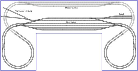 layout plans u shaped station layout in n