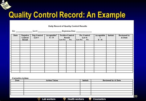module 12 quality control ppt download