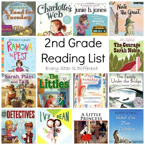 second grade picture books 2nd grade reading list every is different