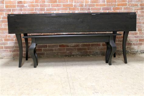 drop leaf console table black reclaimed oak drop leaf table in black wash ecustomfinishes