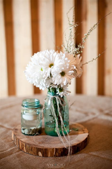 8 rustic wedding centerpieces ideas