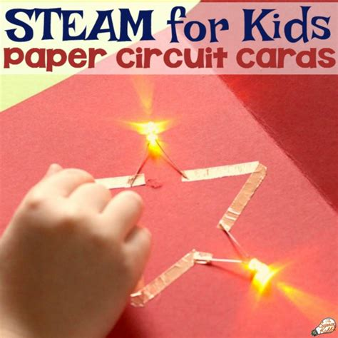 Paper Circuit Card Template