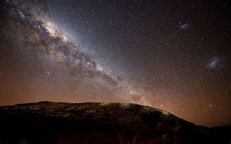 night sky wallpaper hd  wallpapersafari