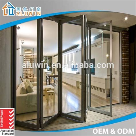 glazed folding patio doors glazed aluminium folding patio doors prices buy