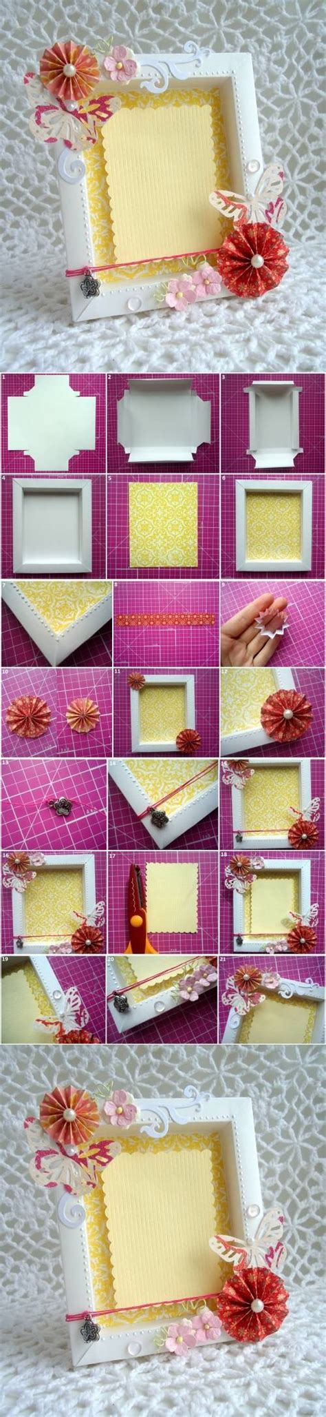 cool frame designs diy cute cardboard picture frame