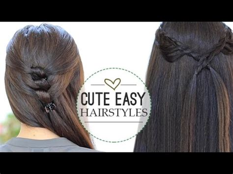 easy hairstyles video download download video cute easy hairstyles