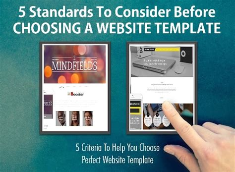 5 Tips To Choose Wisely A Right Template For Your Website Web Design How To Choose Website Template