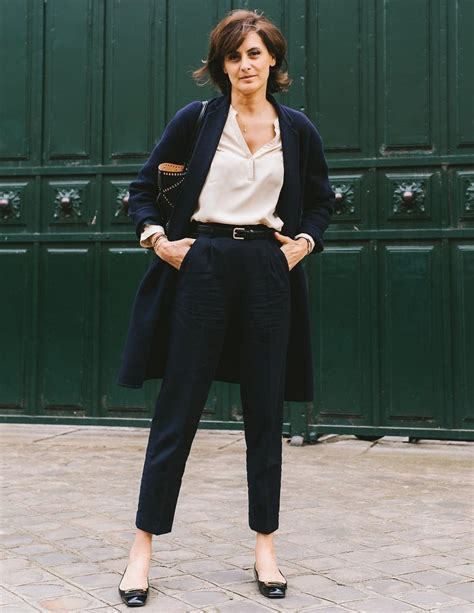dressing style at the age of 44 for ladies parisian uniform dressing a la ines de la fressange that