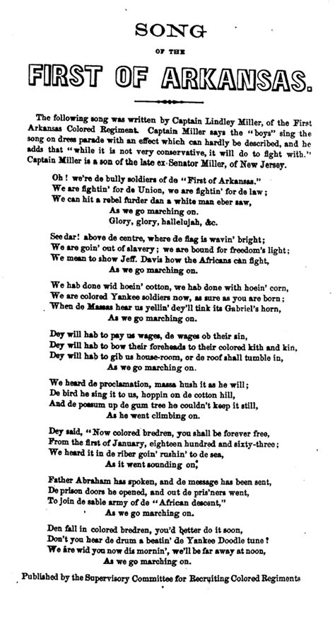 Battle Hymn of the Republic - 나무위키