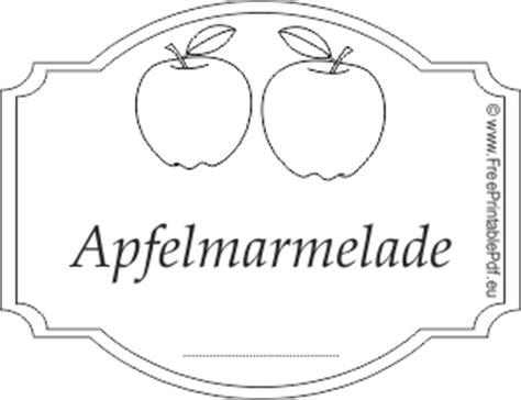 Etiketten Drucken Pdf by Apfelmarmelade Rezepte Suchen