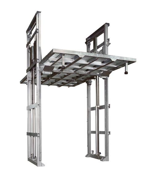 pedana montacarichi mbm box ascensori per auto montauto sistemi di