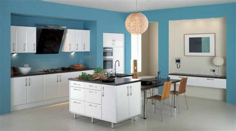Modern Kitchen Color Combinations Bloombety Modern Kitchen Color Schemes With Light Blue Wall Cool Modern Kitchen Color Schemes