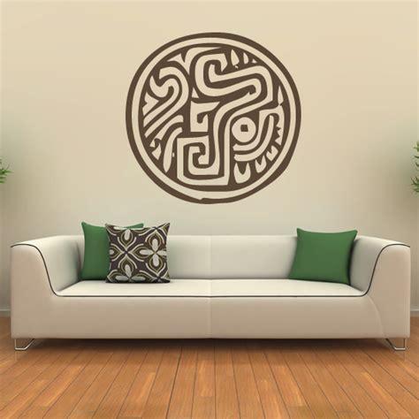 pattern wall stickers uk aztec animal pattern tribal animals wall stickers wall art