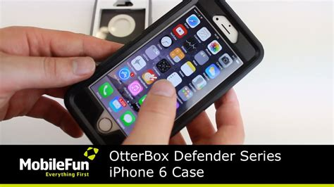 otterbox defender series iphone  case review youtube