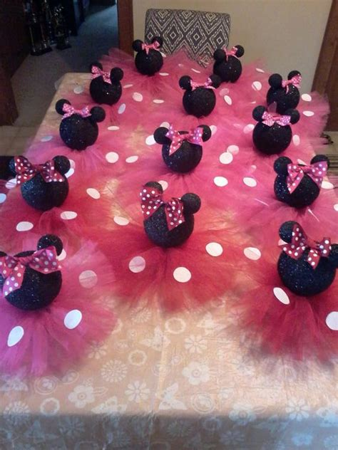 minnie mouse centerpieces black glittery minnie mouse table centerpiece birthday