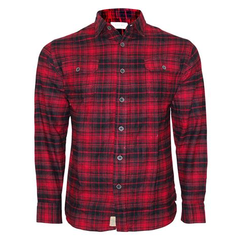Jachs Ny Plaid Shirt Branded new mens brushed fleece flannel check shirt jachs branded lumberjack 100 cotton