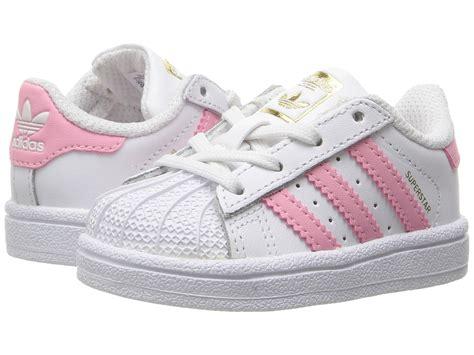 Adidas Superstar All White 100 Original adidas originals superstar infant toddler white pink zappos free shipping both ways