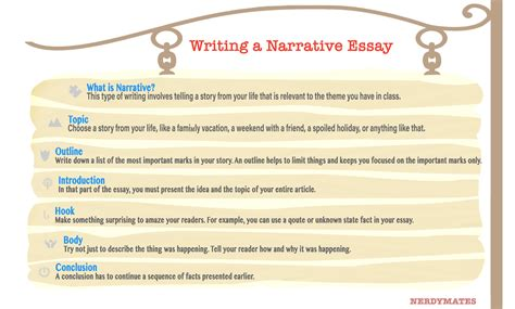 how to write a narrative paper best tips on how to write a narrative essay nerdymates