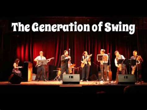 the swing generation is you is or is you ain t my baby x the generation of