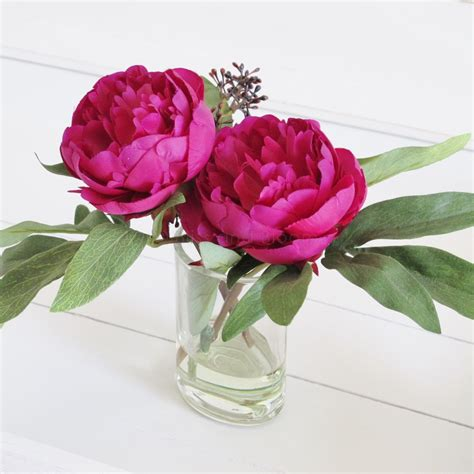 peonies in vase peonies in a vase seconds bliss and bloom ltd