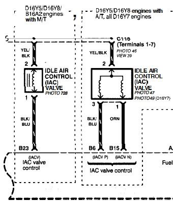 wiring diagram honda d15b wiring picture collection
