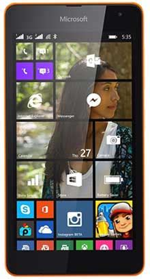 Update Microsoft Lumia 540 microsoft lumia 540 dual sim smartphone price in