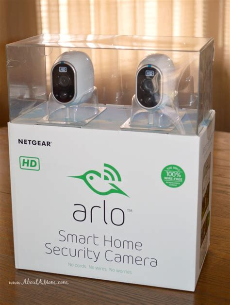 arlo smart home security from netgear about a